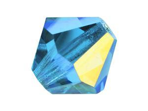 Czech Crystal Bicone Beads 3mm 'Aquamarine AB' (25)