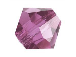 Preciosa Czech Crystal Bicone Beads 3mm Lt Amethyst /25