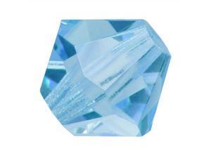 Preciosa Czech Crystal Bicone Beads 3mm Aquamarine (25)