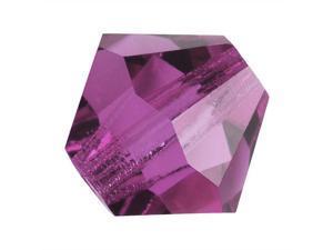 Preciosa Czech Crystal Bicone Beads 3mm 'Amethyst' (25)
