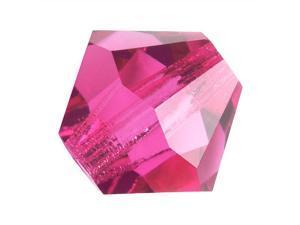 Preciosa Czech Crystal Bicone Beads 4mm 'Rose Pink' /50