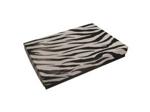Paper Jewelry Box, with Zebra Print Pattern 7 x 5.5 x 1 Inches, 100 Pieces