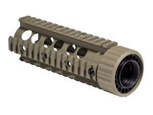 Firefield Carbine 6.7 Inch Quad Rail Dark Earth - Box FF34001DE-BOX
