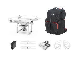 DJI Phantom 3 Advanced Quadcopter with Everything You Need Kit (Backpack)
