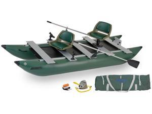 Sea Eagle 375 Foldcat Inflatable Pontoon Boat Trade Deluxe Package 375FCK Deluxe