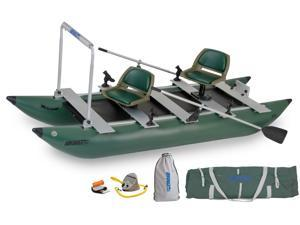 Sea Eagle 375 Foldcat Inflatable Pontoon Boat Trade Pro Package 375FCK Pro