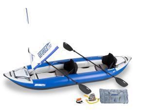 Sea Eagle Explorer Kayak 380 x Trade Quick Sail Package 380XK Quick Sail