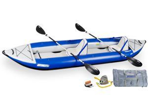 Sea Eagle Explorer Kayak 420 x Trade Deluxe Package 420XK Deluxe