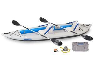 Sea Eagle FastTrack Inflatable Kayak 385FT Trade Deluxe Package 385FTK Deluxe