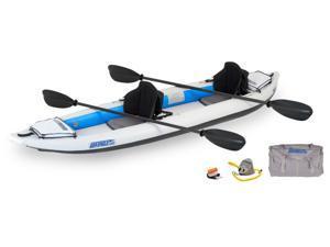 Sea Eagle FastTrack Inflatable Kayak 385FT Trade Pro Carbon Package 385FTK Pro Carbon
