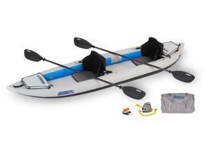 Sea Eagle FastTrack Inflatable Kayak 385FT Trade Pro Package 385FTK Pro