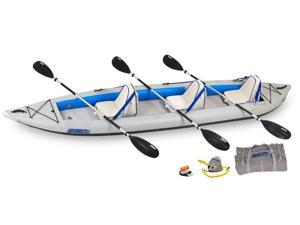 Sea Eagle FastTrack Inflatable Kayak 465FT Trade Deluxe Package 465FTK Deluxe