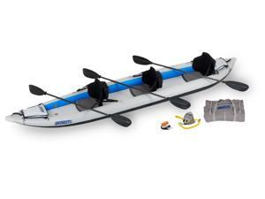 Sea Eagle FastTrack Inflatable Kayak 465FT Trade Pro Carbon Package 465FTK Pro Carbon