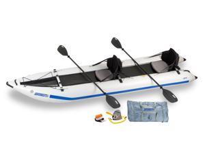 Sea Eagle Paddleski™ Inflatable Catamaran/Kayak 435PS Trade Pro Package 435PSK Pro