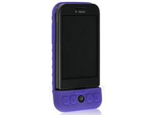 Purple Silicone Protective Skin Case For T-Mobile G1