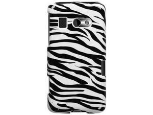 Solid Plastic Protective Phone Cover Case Zebra Skin For HTC Surround