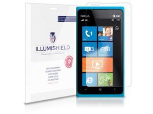 Nokia Lumia 900 Screen Protector [3-Pack], iLLumiShield - Japanese Ultra Clear HD Film with Anti-Bubble and Anti-Fingerprint - High Quality Invisible Shield - Lifetime Warranty