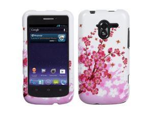 For N9120 Avid 4G Spring Flowers Hard Snap On Phone Protector Cover Case