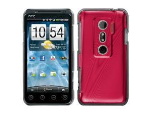 Cosmo Case Red Phone Protector Cover for HTC EVO V 4G / EVO 3D