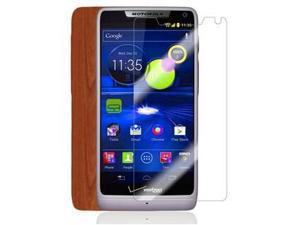 Skinomi Light Wood Full Body Skin+Screen Protector for Motorola DROID RAZR M