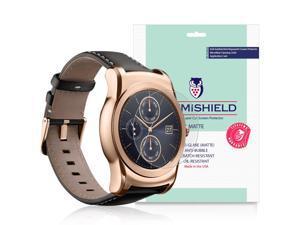 LG Watch Urbane Screen Protector [3-Pack], iLLumiShield - Anti-Glare (Matte) HD Clear Film / Anti-Bubble & Anti-Fingerprint / Japanese Invisible Shield + Lifetime Warranty