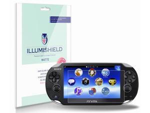 Sony Playstation Vita Screen Protector (PS Vita)[3-Pack](Wi-Fi), iLLumiShield - Anti-Glare (Matte) HD Clear Film / Anti-Bubble & Anti-Fingerprint / Japanese Invisible Shield + Lifetime Warranty