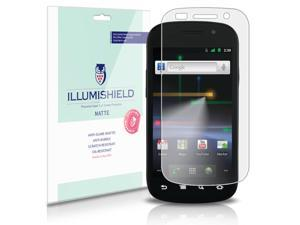 Samsung Nexus S 4G Screen Protector (Google Nexus S 4G)[3-Pack], iLLumiShield - Anti-Glare (Matte) HD Clear Film / Anti-Bubble & Anti-Fingerprint / Japanese Invisible Shield + Lifetime Warranty