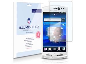 Sony Ericsson Xperia Neo V Screen Protector [2-Pack], iLLumiShield - (HD) Blue Light UV Filter / Premium Clear Film / Anti-Fingerprint / Anti-Bubble Shield - Lifetime Warranty
