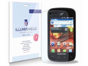 Samsung Galaxy Proclaim Screen Protector [2-Pack], iLLumiShield - (HD) Blue Light UV Filter / Premium Clear Film / Anti-Fingerprint / Anti-Bubble Shield - Lifetime Warranty
