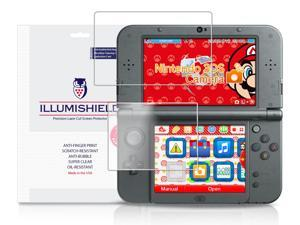Nintendo 3DS XL Screen Protector (2015,Nintendo 3DS LL)[3-Pack], iLLumiShield - Japanese Ultra Clear HD Film with Anti-Bubble and Anti-Fingerprint - High Quality Invisible Shield - Lifetime Warranty