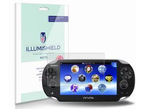 Sony Playstation PS Vita Screen Protector (3G)[3-Pack], iLLumiShield - Anti-Glare (Matte) HD Clear Film / Anti-Bubble & Anti-Fingerprint / Japanese Invisible Shield + Lifetime Warranty