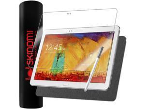 Skinomi Skin Brushed Steel+Screen Protector for Samsung Galaxy Note 10.1 2014