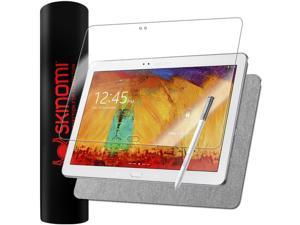 Skinomi Brushed Aluminum Skin+Screen Protector for Samsung Galaxy Note 10.1 2014