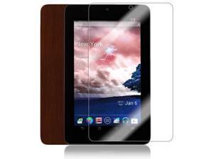 Skinomi Tablet Skin Dark Wood+Screen Protector for Asus MeMo Pad 7 in ME172V