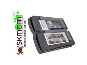 Skinomi Full Body Brushed Steel Tablet Skin+Screen Protector for Sony Tablet P