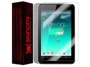 Skinomi Brushed Aluminum Tablet Skin+Screen Protector for Asus MeMo Pad HD7