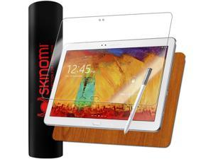 Skinomi Light Wood Full Body+Screen Protector for Samsung Galaxy Note 10.1 2014