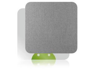 Skinomi Brushed Aluminum TV Streamer Skin Cover for Pivos XIOS DS Media Play