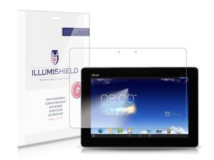ASUS MeMo Pad FHD 10 Screen Protector [2-Pack](Wi-Fi), iLLumiShield - Japanese Ultra Clear HD Film with Anti-Bubble and Anti-Fingerprint - High Quality Invisible Shield - Lifetime Warranty
