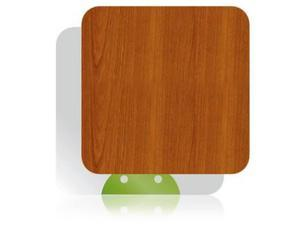 Skinomi Light Wood Full Body TV Streamer Skin Cover for Pivos XIOS DS Media Play