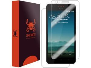 HTC Desire 825 Screen Protector + Full Body, Skinomi® TechSkin Full Coverage Skin + Screen Protector for HTC Desire 825 Front & Back Clear HD Film - with Lifetime Warranty