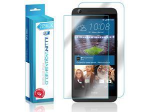 HTC Desire 626 Screen Protector + Back Cover (Desire 626s)(2-Pack), ILLUMI AquaShield Full Coverage Back and Front Screen Protector for HTC Desire 626 HD Clear Anti-Bubble Film - Lifetime Warranty