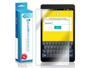 Alcatel OneTouch Tablet POP 10 LTE Screen Protector (P360X)(2-Pack), ILLUMI AquaShield Full Coverage Screen Protector for Alcatel OneTouch Tablet POP 10 LTE HD Clear Anti-Bubble Film Lifetime Warranty
