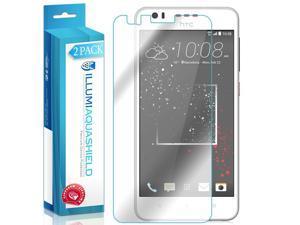 HTC Desire 825 Screen Protector (2-Pack), ILLUMI AquaShield Full Coverage Screen Protector for HTC Desire 825 HD Clear Anti-Bubble Film - Lifetime Warranty