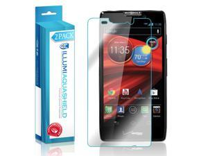 Motorola Droid RAZR MAXX HD Screen Protector (2-Pack), ILLUMI AquaShield Full Coverage Screen Protector for Motorola Droid RAZR MAXX HD HD Clear Anti-Bubble Film - Lifetime Warranty