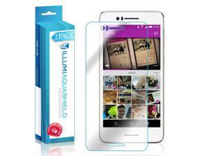 HTC Desire 728 Screen Protector (2-Pack), ILLUMI AquaShield Full Coverage Screen Protector for HTC Desire 728 HD Clear Anti-Bubble Film - Lifetime Warranty