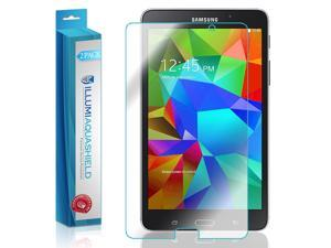 Samsung Galaxy Tab 4 7.0 Screen Protector (2-Pack), ILLUMI AquaShield Full Coverage Screen Protector for Samsung Galaxy Tab 4 7.0 HD Clear Anti-Bubble Film - Lifetime Warranty