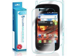 Samsung Galaxy Proclaim Screen Protector + Back Cover (2-Pack), ILLUMI AquaShield Full Coverage Back + Front Screen Protector for Samsung Galaxy Proclaim HD Clear Anti-Bubble Film Lifetime Warranty