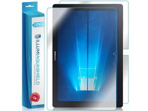 """Galaxy TabPro S 12"""" Screen Protector + Back Cover (Tablet Only)(2-Pack), ILLUMI AquaShield Full Coverage Back & Front Screen Protector for Galaxy TabPro S HD Clear Anti-Bubble Film - Lifetime Warranty"""