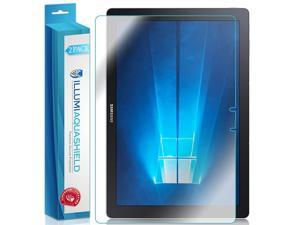 "Samsung Galaxy TabPro S 12"" Screen Protector (Tablet Only)(2-Pack), ILLUMI AquaShield Full Coverage Screen Protector for Samsung Galaxy TabPro S 12"" HD Clear Anti-Bubble Film - Lifetime Warranty"